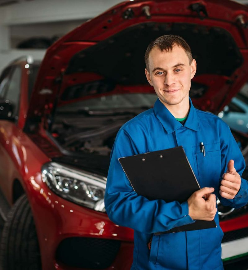Technician With Notebook Car With Opened Hood Small P21paiswmi0ssj4tyyd882f4w6vsdiosc3h9ezhdks